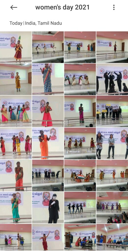 Women's Day 2021 Cultural Competition